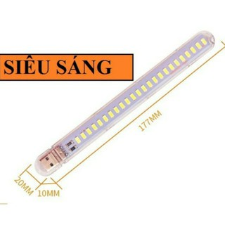 led thanh 24 bóng – 8 bóng 5v USB siêu sáng để bàn, đọc sách