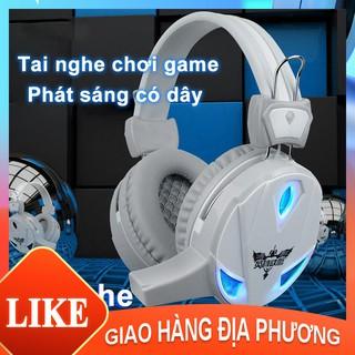 Tai nghe H7 chụp tai chuyên Game có mic thoại Led [M10002]