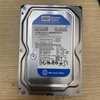 [Mã ELORDER5 giảm 10K đơn 20K] ổ cứng PC 320GB Western Digital ( WD ) tháo case good 100%