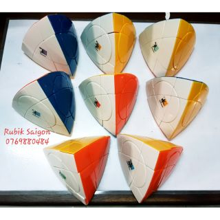 Compo rubik Tetrahedron plus stickerless (8 khối)