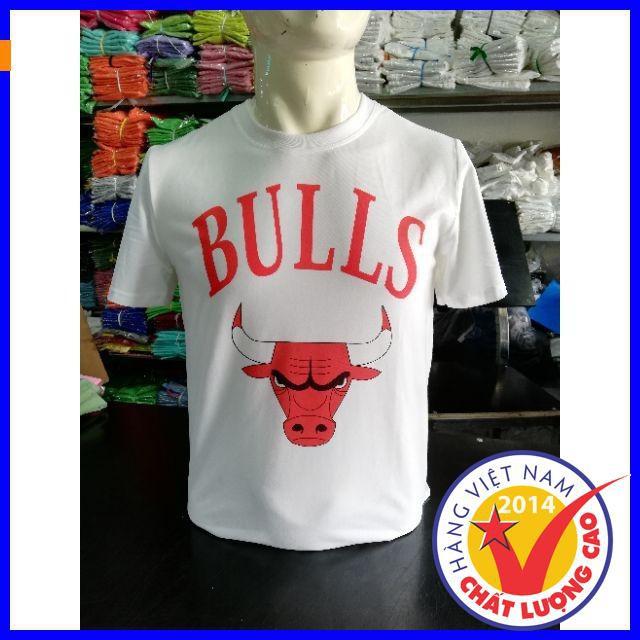[ Hot Nhất ] Áo thun bulls thiết kế thời trang mùa hè,áo thun in đẹp,áo thun nam phong cách