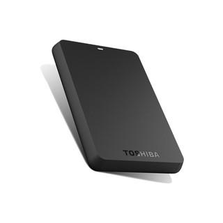 [Mã ELCLAPR giảm 7% đơn 500K] Ổ cứng di động Toshiba Canvio Basic 500GB USB 3.0 Đen - HDTB405AK3AA