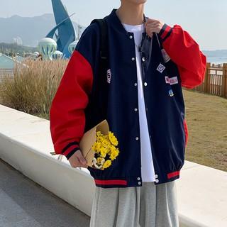 Áo Khoác Thể Thao Hàn Quốc Dáng Rộng Cho Nam