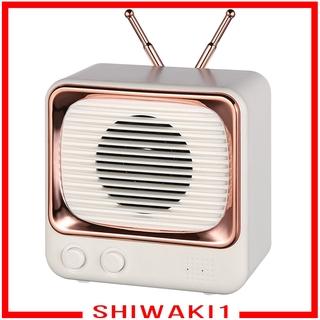Loa Bluetooth Không Dây Mini Phong Cách Cổ Điển Shiwaki1
