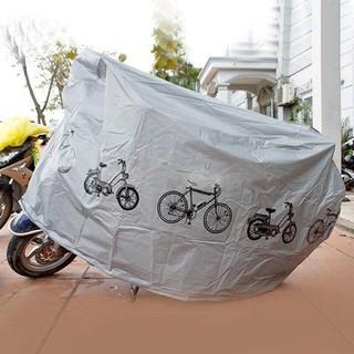 Bạt che nắng che mưa cho xe đạp xe máy
