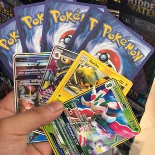 Thẻ bài pokemon 1 gói 8 lá bài