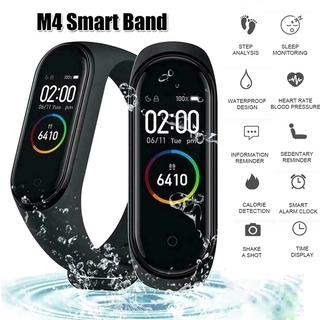 Vòng đeo tay thông minh M4 hỗ trợ bluetooth theo dõi sức khỏe tiện dụng