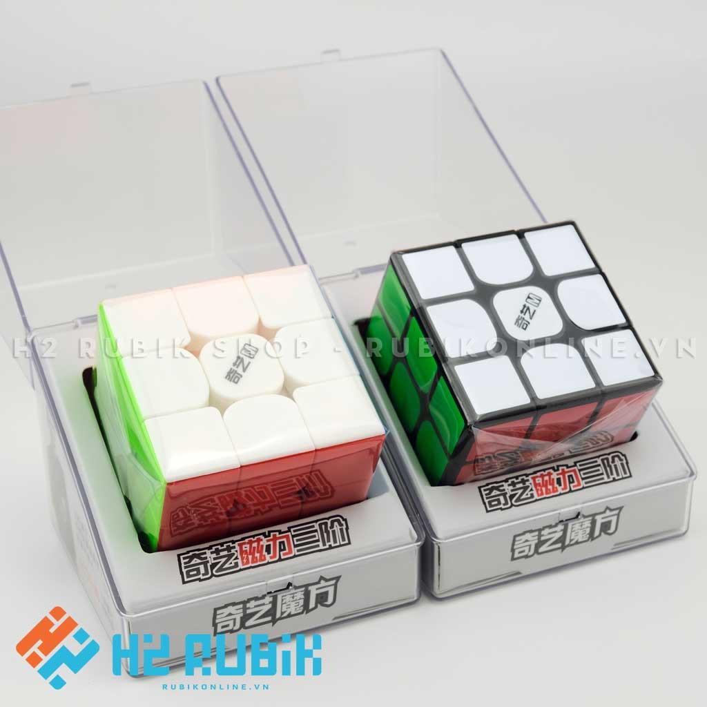 [SIÊU RẺ] Rubik 3x3 QiYi MS 3x3 Magnetic (có nam châm sẵn) - Rubik chính hãng xoay trơn chuyên nghiệp