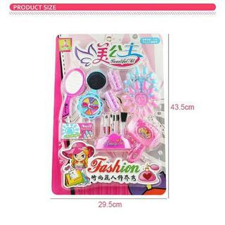 Đồ chơi trẻ em đồ chơi thông minh Vỉ trang điểm Barbie HY6606