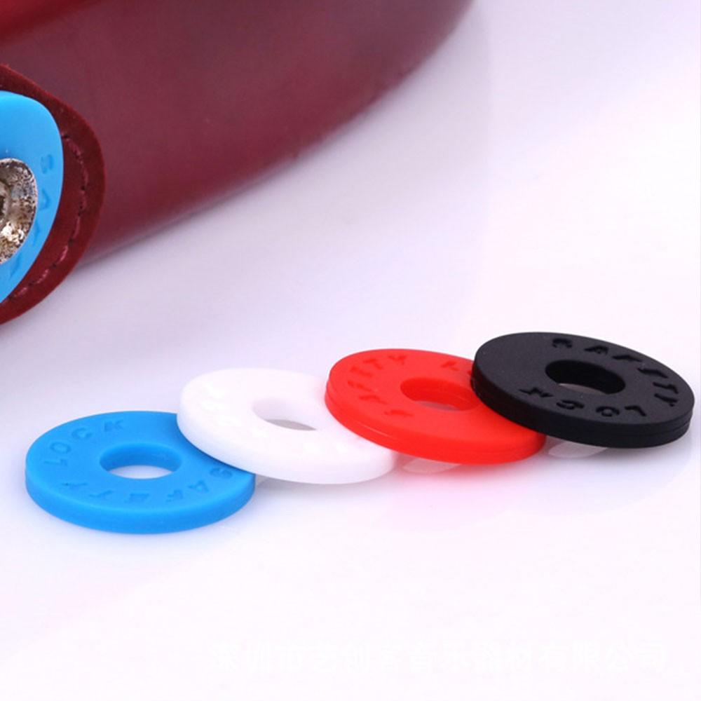 Electric Guitar Nail Locks Blocks Durable 4 Color 2*2*0.5cm