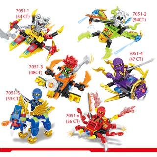 Lego Ninjago Rồng, Quái thú, Phi thuyền [Siêu Hot 2020]