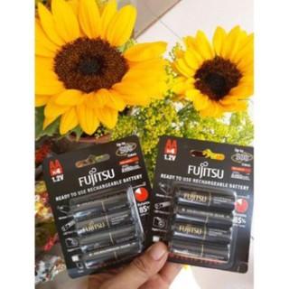 Pin hãng FUJITSU AA ..1.2v ×4…1 vĩ ..giá siêu tốt …bền đẹp và rẻ