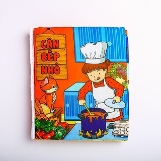 Sách vải tương tác cho trẻ PiPo : Chủ đề căn bếp nhỏ