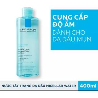 Nước làm sạch sâu tẩy trang cho da dầu nhạy cảm La Roche-Posay Micellar Water Ultra 400ml