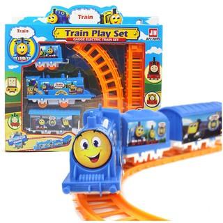 Bộ lắp ráp đoàn tàu chạy băng pin