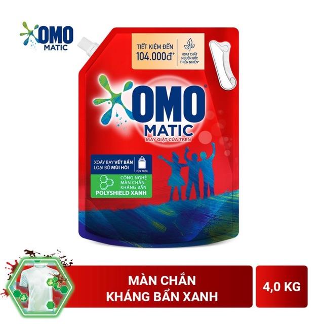 Nước giặt OMO Matic 3,7kg / 4kg(Túi)