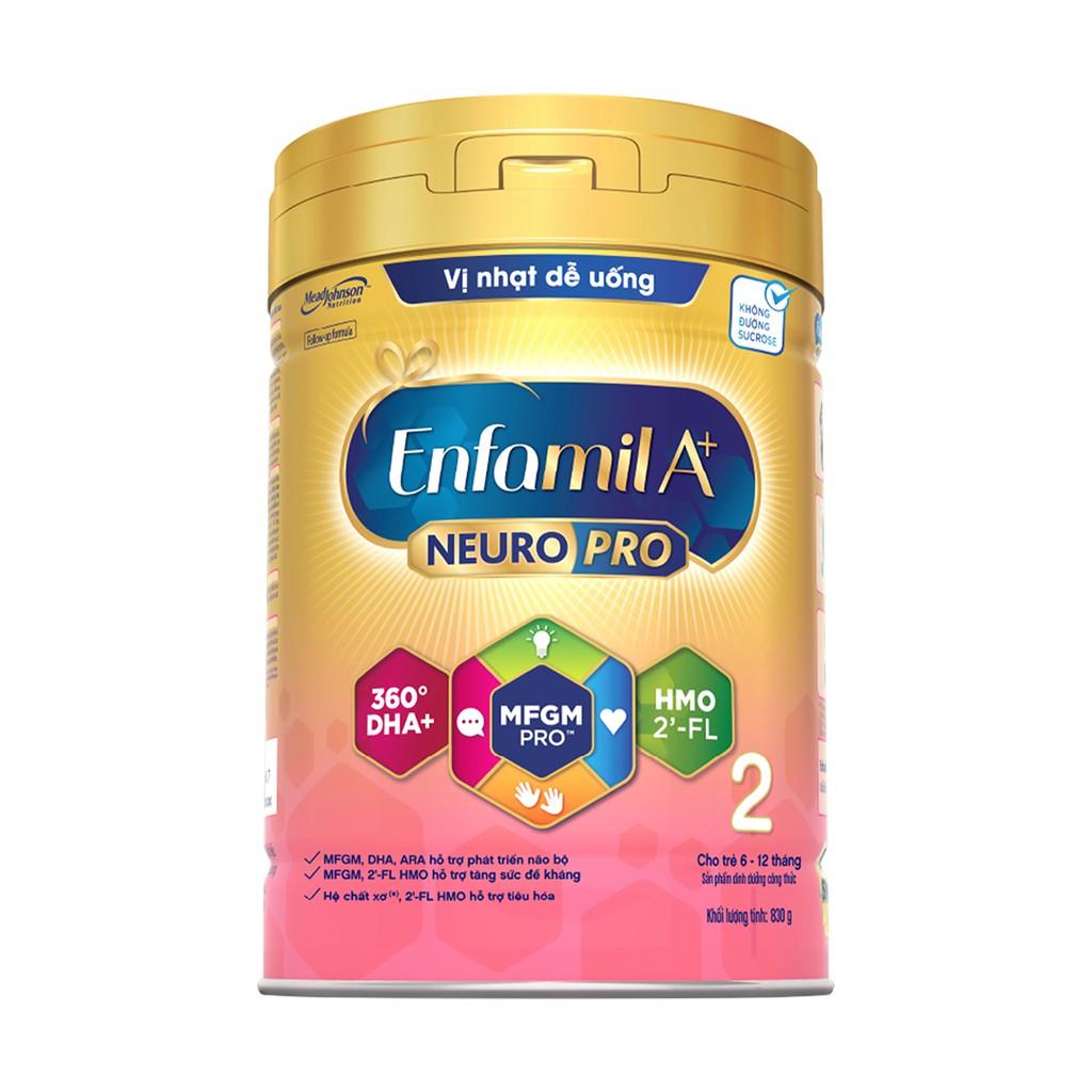Sữa Bột Enfamil A+ Neuropro 2 Với 2'-FL HMO – 830g