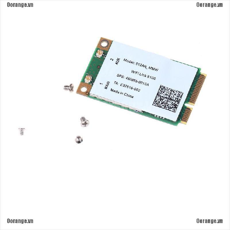 card 300M mini pci-e không dây wlan 2.4/5GHz cho link 5100 wifi 512an_mmw