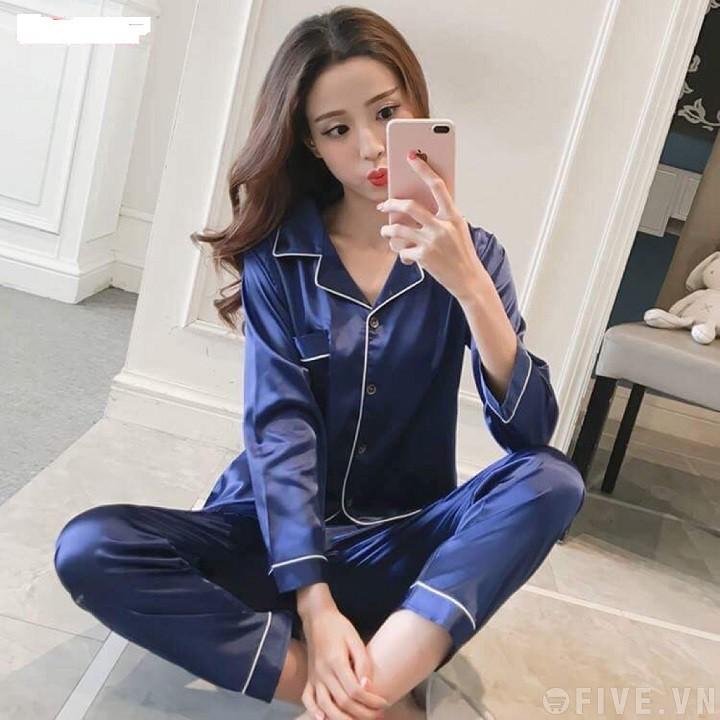 Bộ pijama lụa siêu đẹp(hàng cao cấp)