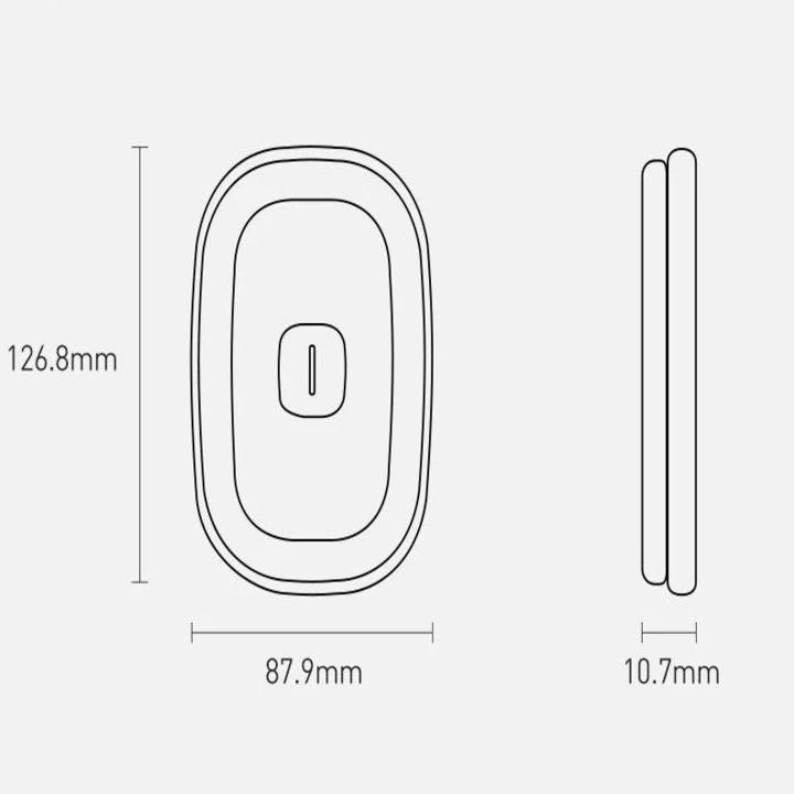 Đèn led gắn trần ô tô, phòng khách, bếp thương hiệu Baseus: Mã sản phẩm CRYDD01-01