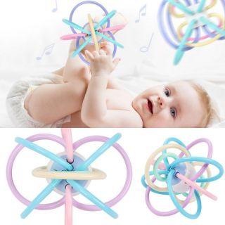 Bóng vòng gặm nướu silicone an toàn cho bé