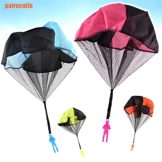 【TIN】Popular Mini Parachute soldier toy Outdoor Sports Kids Educational Gift Toys 0 0 0 0 0