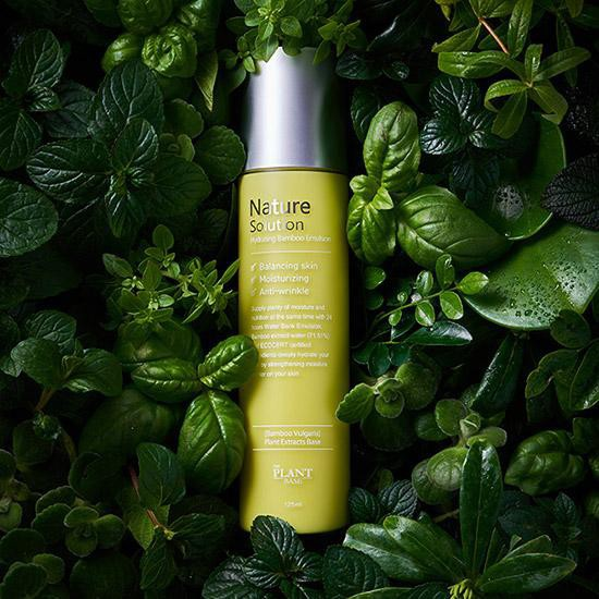 SỮA DƯỠNG ẨM THE PLANT BASE NATURE SOLUTION HYDRATING BAMBOO EMULSION 125ML  | Shopee Việt Nam