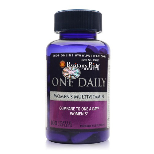 Vitamin tổng hợp nữ One Daily Women's Multivitamin Puritan's Pride...