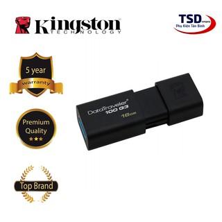 [Mã ELFLASH5 giảm 20K đơn 50K] USB 3.0 Kingston 16GB Chính Hãng