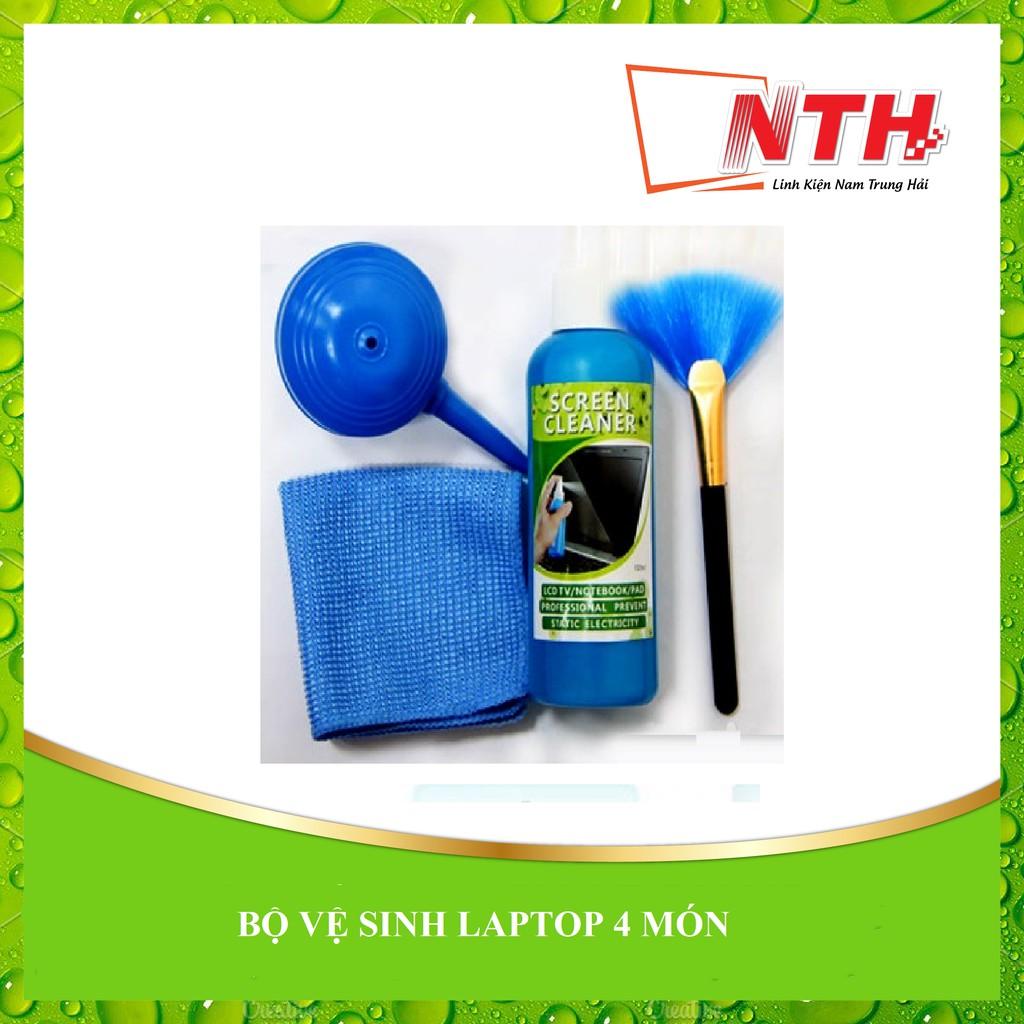 Bộ vệ sinh laptop 4 món