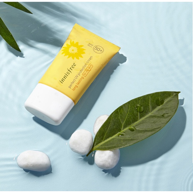 Kem chống nắng Innisfree Perfect UV Protection Cream Long Lasting For Oily Skin SPF50 PA+++ - 2413445 , 182114648 , 322_182114648 , 312500 , Kem-chong-nang-Innisfree-Perfect-UV-Protection-Cream-Long-Lasting-For-Oily-Skin-SPF50-PA-322_182114648 , shopee.vn , Kem chống nắng Innisfree Perfect UV Protection Cream Long Lasting For Oily Skin SPF50