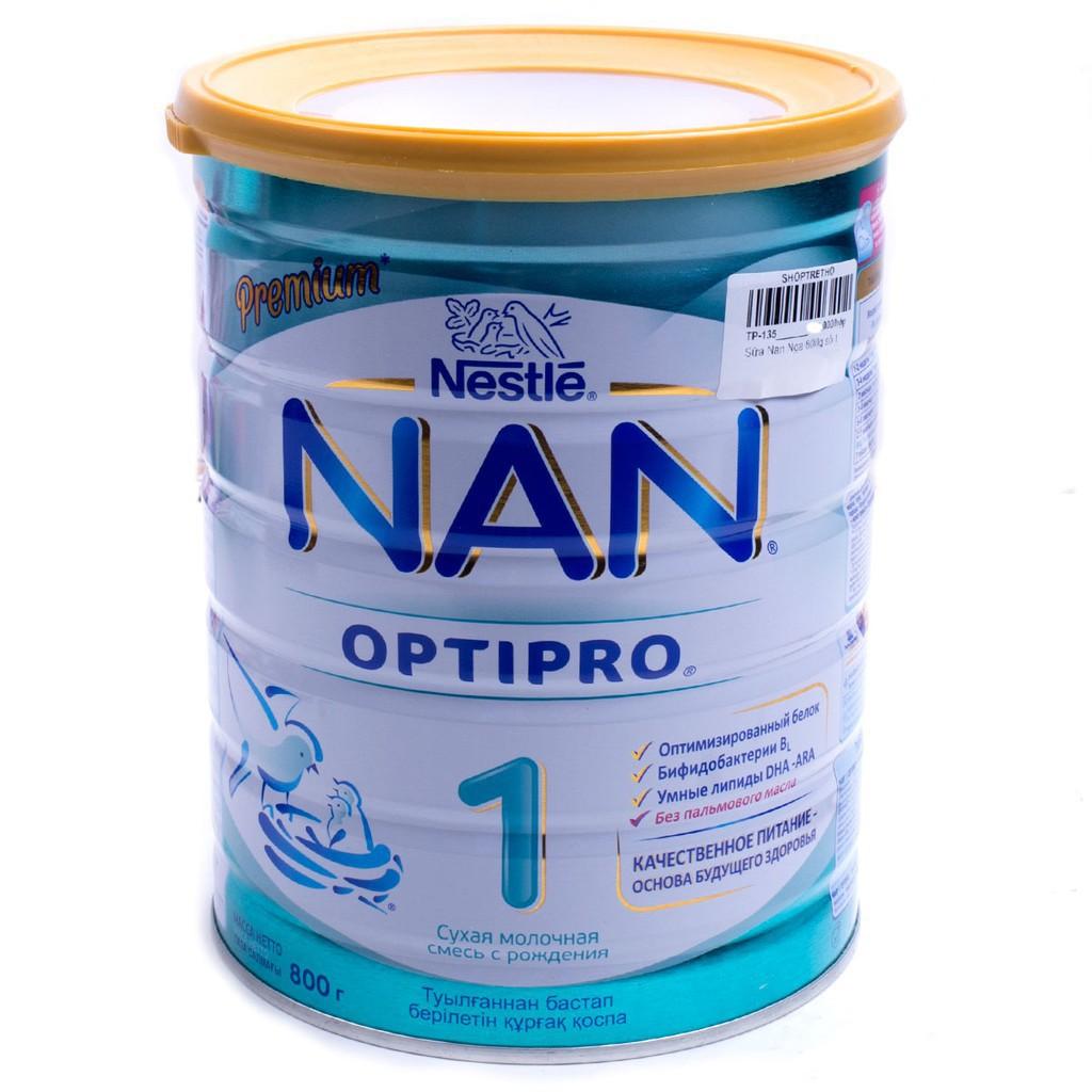 [Hàng có sẵn] Sữa Nan Nga số 1 (800g) date 2020 - giá gốc