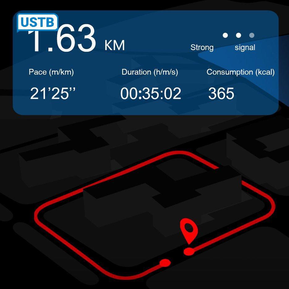 Đồng Hồ Thông Minh Md18 Kết Nối Bluetooth Hỗ Trợ Định Vị Gps