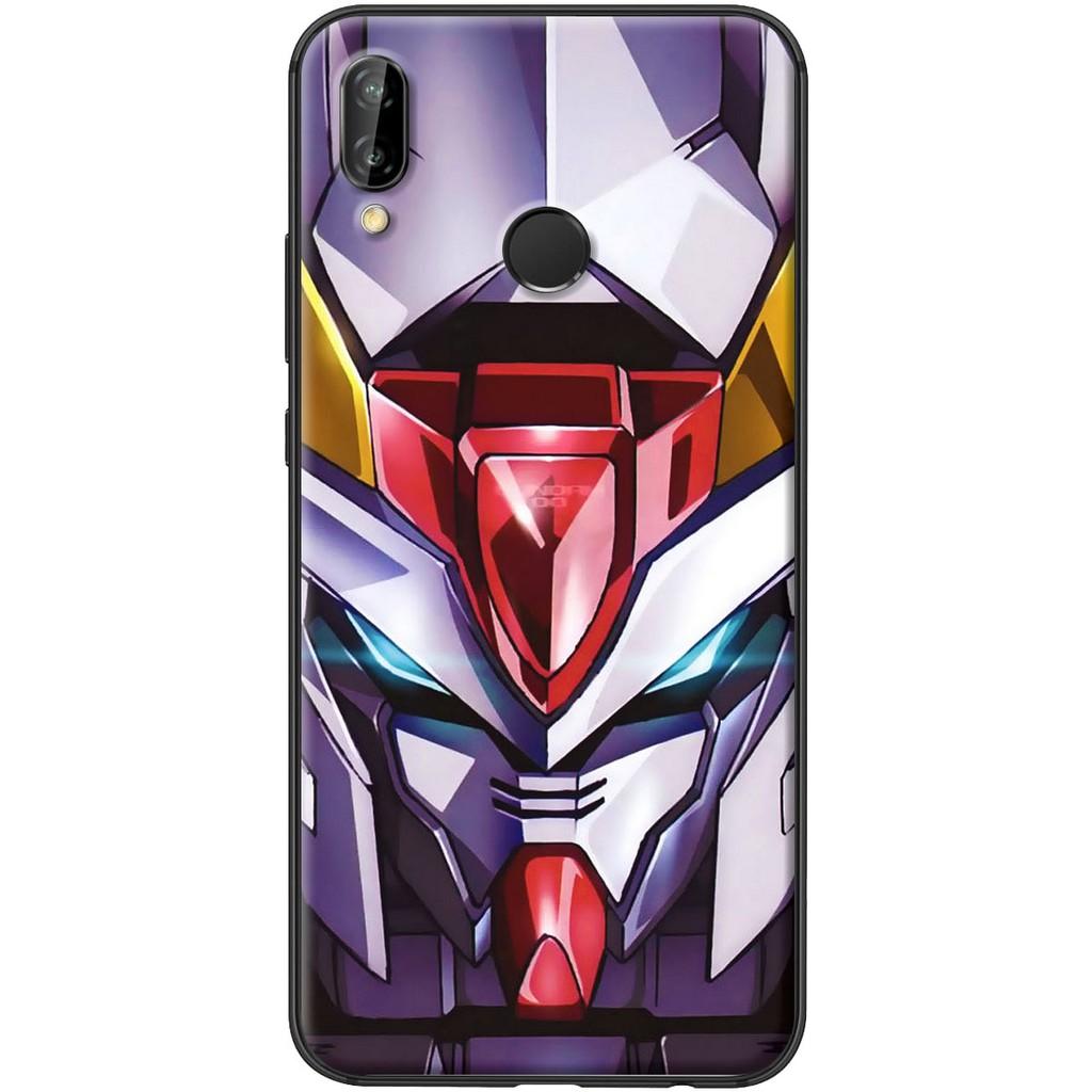 Ốp lưng nhựa dẻo Huawei Nova 3E Gundam