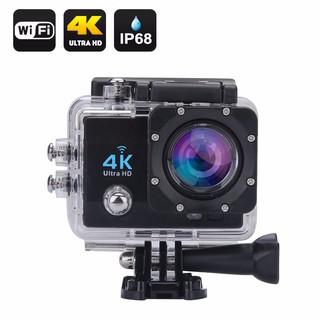 [New 100% - loại 1] Camera hành trình Mẫu Mới 2018 xe máy Sport Cam A19 Wifi 4K có REMOTE và mua thêm Pin