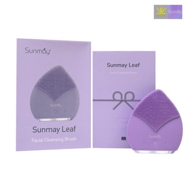 Máy rửa mặt Sunmay Luxury Leaf - Màu Tím