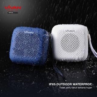 Loa Bluetooth 5.0 ngoài trời chống thấm nước VIVAN VS1 chơi nhạc liên tục 8 giờ sạc chỉ 3 giờ dùng cho các dòng máy.