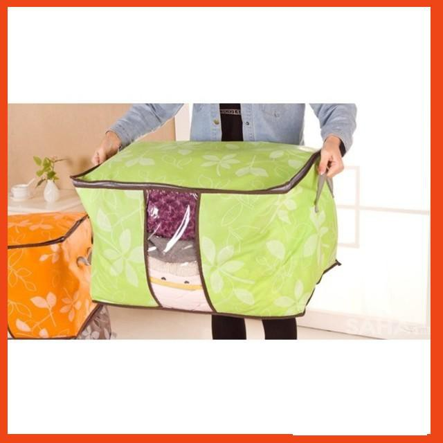 [ƯU ĐÃI KHỦNG]  Túi đựng chăn màn quần áo hoa văn | Hàng Bán Chạy