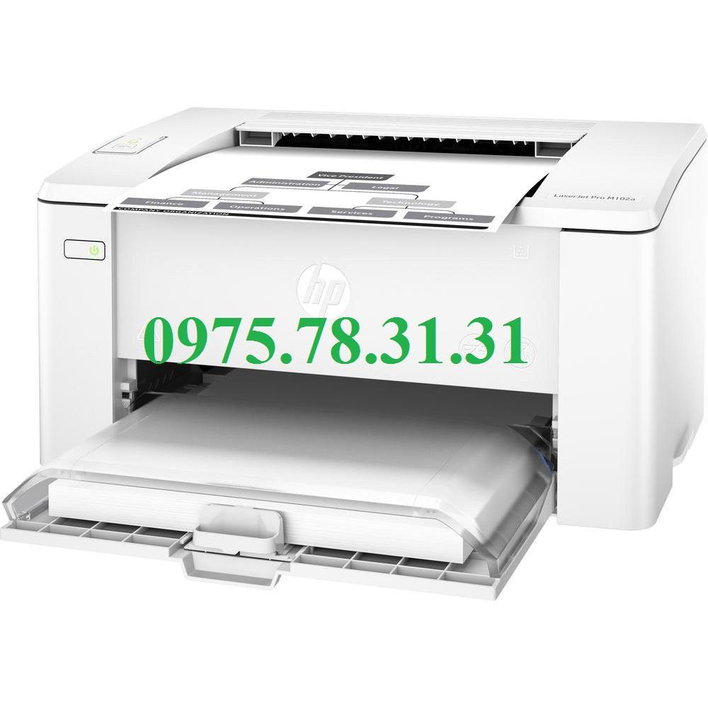 Máy in laser đen trắng HP LaserJet Pro M102a ( mới 100% )