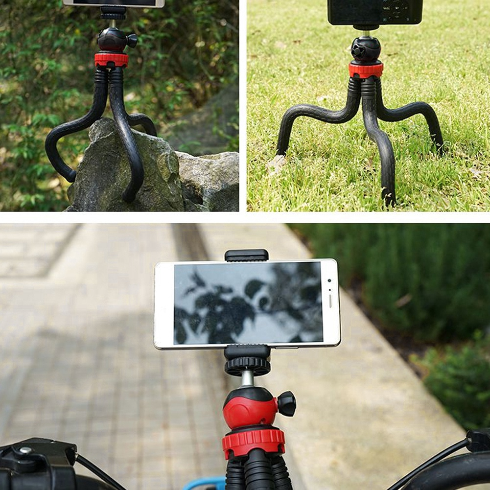 Mini Portable Flexible Desktop Tripod with Ball Head for DSLR Camera Smartphone