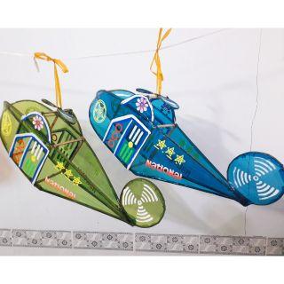 Lồng đèn Trung thu giấy kiếng hình máy bay trực thăng