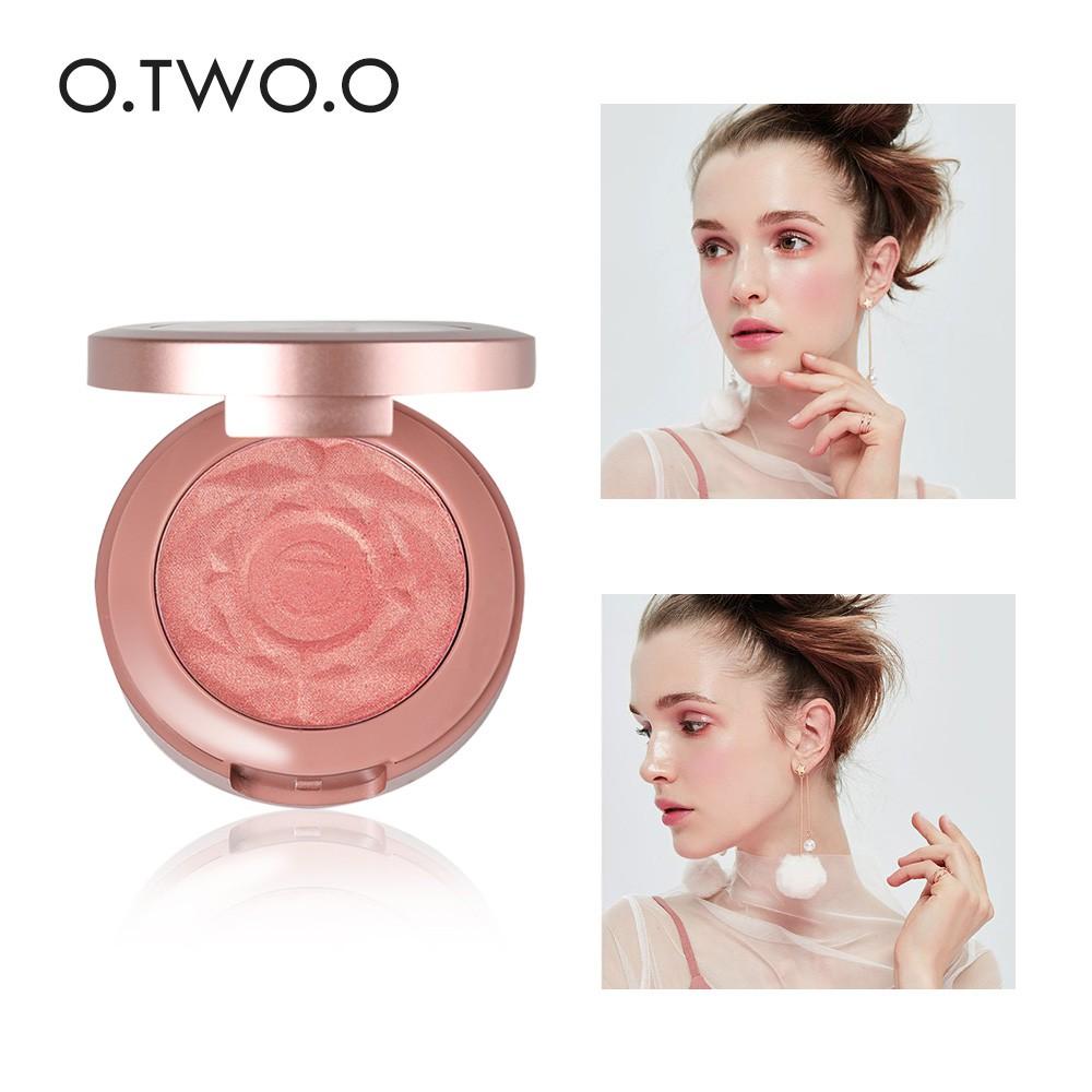 Phấn má hồng trang điểm tự nhiên O.TWO.O 6g 6 màu tùy chọn