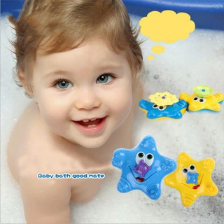 BOBORA Children Bathing Water Bath Toy Starfish Baby Sassy Toys Swimming Toys