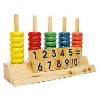Đồ chơi toán học dành cho bé
