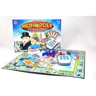 Cờ Tỷ Phú Monopoly – Electronic Banking