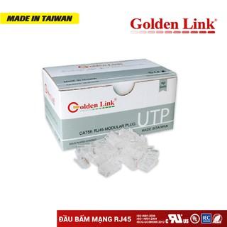 Đầu Bấm Mạng RJ45 Golden Link CAT5E UTP - 100 Đầu Bịch. thumbnail