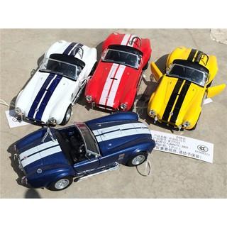 (freeship Hà Nội) Kinsmart mô hình xe ford shelby cobra 1965 mui trần tỉ lệ 1:32 màu ngẫu nhiên