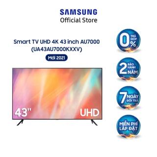 Smart Tivi Samsung 4K UHD 43 Inch UA43AU7000KXXV – Miễn phí lắp đặt