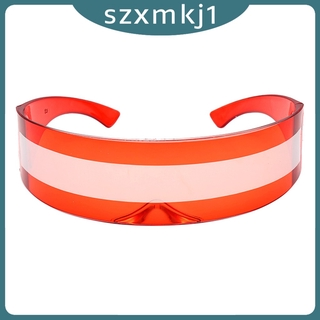 Look at me Space Party Cosplay Costume Futuristic One-piece Bar Novelty Glasses