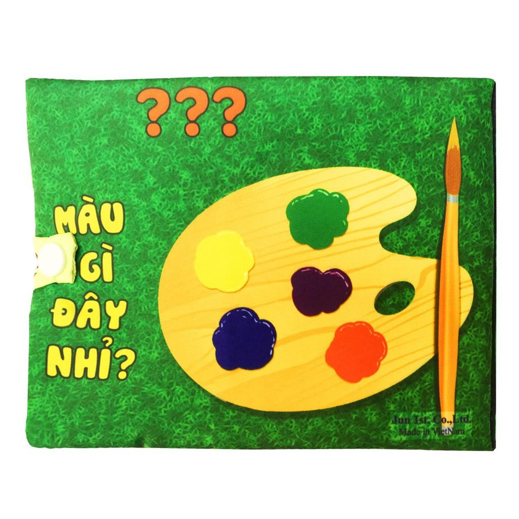 sách vải cơ bản 💖𝑭𝑹𝑬𝑬𝑺𝑯𝑰𝑷💖 đồ chơi giáo dục sớm cho bé từ 3 tháng tới 3 tuổi